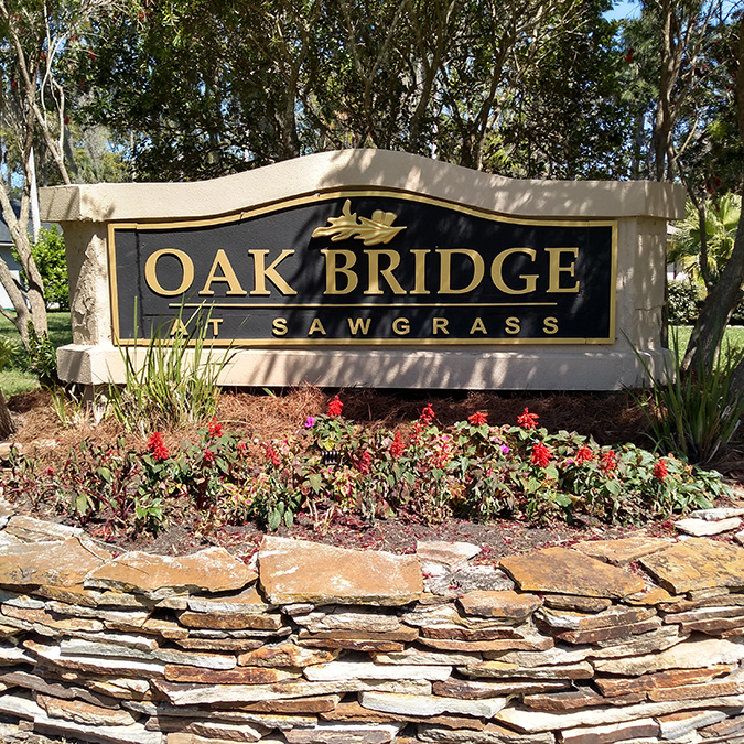 Oakbridge-sign